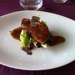 foie gras poele et son jus de truffe