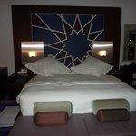 grand lit bien confortable