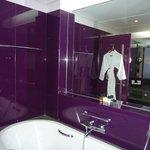 salle de bain côté baignoire