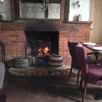 Cosy setting, great food
