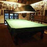 Wood bar - Billiards table