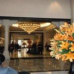 The palatial lobby area