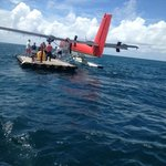 Where the seaplane drops you off, and boat picks you up, an experience in the middle of the sea