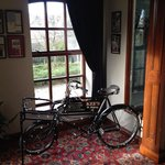 Hote is full of charm and character! Antique bike in the hallway was cool!