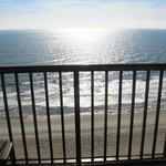 Oceanfront balcony view 1529