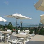 Terrazza panoramica dal bar/hotel/ristorante  Belvedere