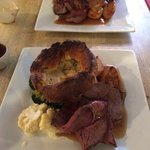 Excellent roast beef Sunday lunch.