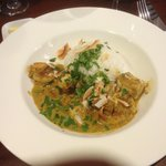 Prawn and coley malaysian curry