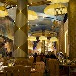 Attractive restaurant