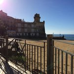 La terrazza sulla spiaggia è sempre baciata dal Sole