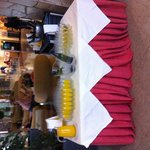 Even free Buck's Fizz and champagne at reception every day fantastic
