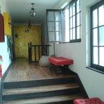 pasillo común a las habitaciones...
