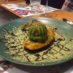 Desert Papaya, flambiert