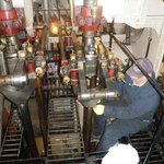Getting the Quadruple expansion steam engine working