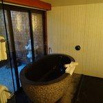 Zen Suite - bath room (best bathing tub ever!!)