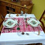 table pour notre dîner