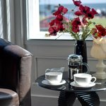 Coffe in the lounge?