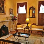 Our parlor is filled with Napoleonic era furnishings