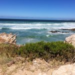 A beach voew