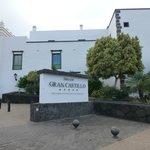 Dream Gran Castillo Resort sign