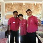 Julio Cesar, Clara, Kelin Antonio...Great Service
