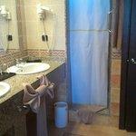 Bathroom with elephant towel