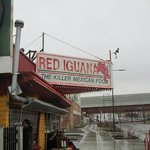 View of entrance to Red Iguana 2