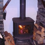 Log Burner! Very cosy