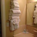 Plenty of towels