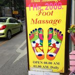 Very good massage palor on the same street as the museum.