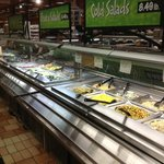 Wegmans buffet line