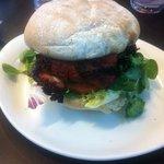 Tandoori burger .... tasted wonderful