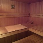 Sauna room in the Spa
