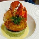 Package Dinner - Gratinated half lobster!