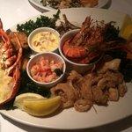 Groupon Seafood platter