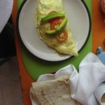 My beautiful omelet