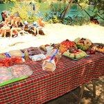 Almuerzo en el rio- Manso Clásico