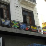 vista desde calle Suipacha