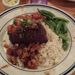 Sirloin from Cliff's with Crawfish etoufe. This was the best steak I ever had.