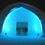 Entrance to the ICEHOTEL