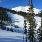 Intermediate slopes at Nakiska Ski Hill