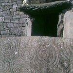 Entrance at Newgrange
