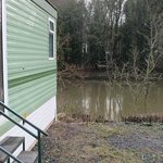 Holiday Let Caravan, view of the River Severn, Full Fishing rights