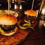 Smoked basque beef burger
