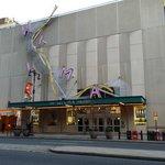 A theater next door
