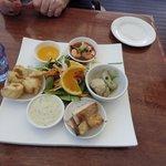 Tasting plate - seafood combo