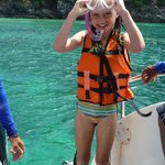 Even my 8 year enjoyed snorkelling. All equipment was supplied.