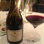 Vinho da Regiao do Loire no Jantar do Restaurante do Chateau