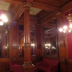 The lounge for the King of Italy, although he never visited