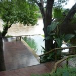 Decks, pool and Olifants River